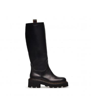 Черные ботинки Barracuda из...