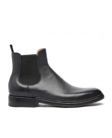 Ботинки Beatles Barracuda из высококачественной телячьей кожи черный для мужчин