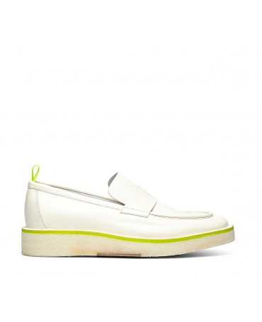 Barracuda soft calfskin moccasins
