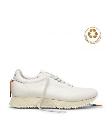 Белые кроссовки Barracuda...